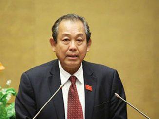 Deputy PM Truong Hoa Binh