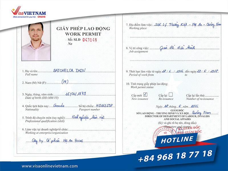 Vietnam visa requirements in Hong Kong