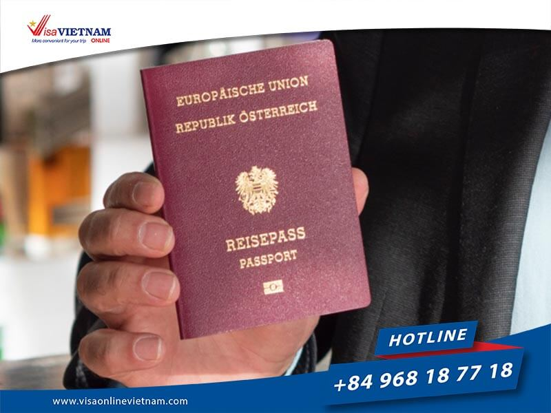 Applying Vietnam visa in Austria - Vietnam Visum in Österreich beantragen