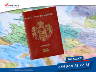 Best way to get Vietnam visa on arrival from Monaco